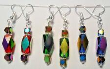 Beautiful Glass beads earrings - choice of 3 colours