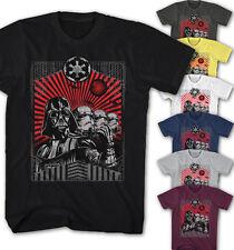 ★Herren T-shirt Star Wars Darth Vader Stormtrooper The Dark Side Movie DS11115★
