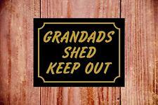 Nonni Capanno tenere fuori sign 9377 ALLUMINIO/PVC/Adesivo romanzo IDEA REGALO