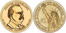 2012-D  GROVER CLEVELAND (2nd. Term) PRESIDENTIAL DOLLAR COIN