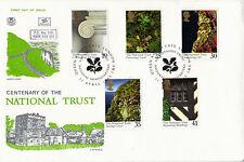 1995 National Trust STUART PRIMO GIORNO DI COPERTURA Queens Gate London SW1