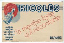BUVARD RICQLES  ALCOOL DE MENTHE