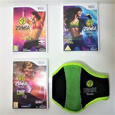 Nintendo Wii Zumba Fitness Game series - Multi-Listing