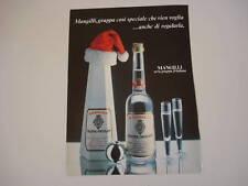 advertising Pubblicità 1983 GRAPPA MANGILLI