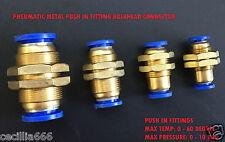 PARATIA connettore PNEUMATICO PUSH IN RACCORDI ARIA / tubo dell'ACQUA & TUBO