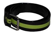 Flosay Shining Bright Snap on Belt Black Lime Green