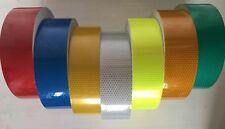 High Quality High Intensity Vis Viz Reflective Tape Vinyl Self-Adhesive Choose