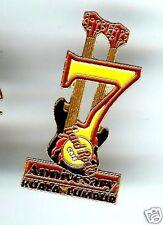 Hard Rock Cafe KUALA LUMPUR 7TH Anniversary. Pin. RARE