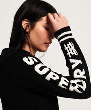 Superdry Damen Superdry Damen Hoodie Mit Logo Am Ärmel