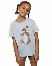 Disney niñas The Jungle Book Classic Mowgli and Baloo Camiseta