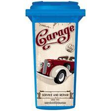 OLD TIME GARAGE WHEELIE BIN STICKER PANEL