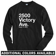 Dallas Hockey Stadium Long Sleeve T-shirt - LS Men S-4X - Gift Fan Stars Texas