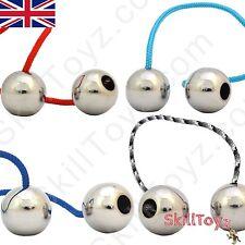 Begleri giocattolo di abilità IN ACCIAIO INOX LUCIDO Perline-Scelta Di Paracord-UK Shop