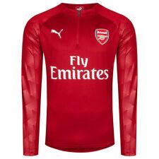 64d2501bfa52c FC Arsenal London PUMA 1 4 Zip Herren Fußball Trainings Sweatshirt  753334-03 neu