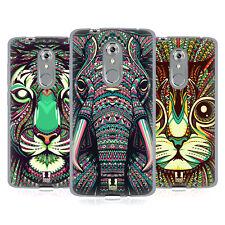 HEAD CASE DESIGNS AZTEC ANIMAL FACES 2 SOFT GEL CASE FOR ZTE PHONES