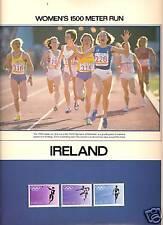 IRELAND 1984 SUMMER OLYMPICS WOMEN'S 1500 METER RUN