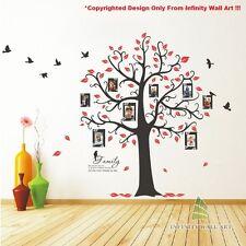 Wall Stickers Tree Flower Nursery Kids Wall Art Decal Butterfly Vinyl Decor)P538