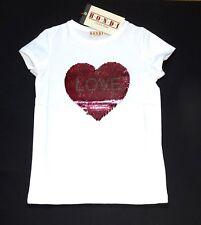 Bondi T-Shirt WendePailletten Streichel Shirt LOVE Herz Germany Gr. 92 - 140 NeU