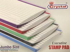 Cojín Grande Jumbo sello de tinta para Classic Range-PAD TAMAÑO 163 X 113 Mm-Todos Los Colores