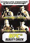 UFC 59 - Reality Check (DVD, 2007)