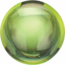 Natural Fine Apple Green Peridot - Round Cabochon - Pakistan - AAA Grade