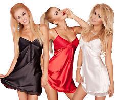 ropa de dormir de Dama Satén Vestido De Noche Camisón Vestido dormir Pijama