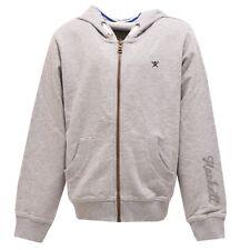 3431U felpa bimbo HACKETT full zip grigio grey sweatshirt kid boy