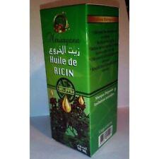 Huile végétale de ricin 60ML Aide à la repousse des cheveux. Fortifie les ongles
