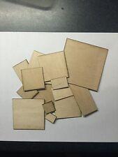 Laser Cut legno compensato multistrato 1.6mm IN LEGNO BASI PER WARGAMES. TABLE TOP GAMES Multi Pack
