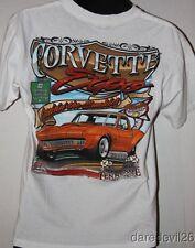 """2009 Corvette Expo """"Cruising The Smokies"""" Gatlinburg, TN White Medium Shirt"""