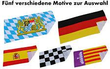 Badetuch Saunatuch Strandtuch Deutschland Bayern Mallorca Spanien Zielflagge