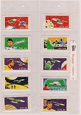 1971 Star Trek PRIMROSE Confectionary 12 Stamp set