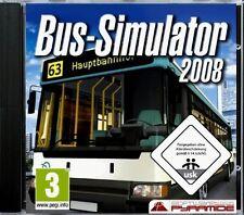 BUS-SIMULATOR 2008 - Werden Sie Busfahrer! - NEU & SOFORT