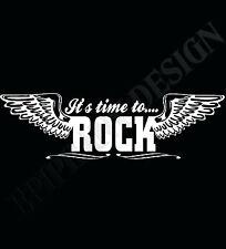 Roca t-shirt Heavy Metal Camiseta Gig Camiseta Partido Led Zeppelin Ac/dc Guitarra