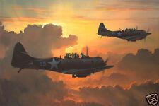 """Dauntless Against A Rising Sun"" Phillips Giclee Canvas"