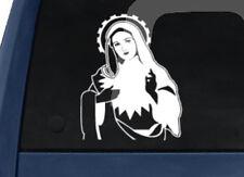 Saint Mary Sacred Heart - Car Tablet Vinyl Decal