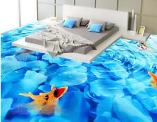 3D Flower River Fish 7482 Floor WallPaper Murals Wall Print Decal 5D AU Lemon