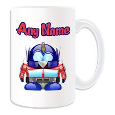Personalised Gift Optimus Prime Penguin Mug Money Box Cup Hero Movie Transformer