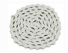 WHITE bike Chain 1/2x1/8x112.lowrider bike chain.fixie bike chain 123120