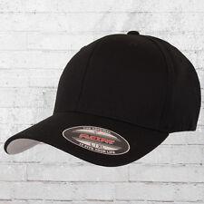 Flexfit Cap Blanko black Kappe Mütze Fullcap Schildmütze Haube Capi Schirmmütze