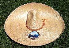 Mexican Hat Charro Wheat Straw Size 7 1/2.Sombrero Charro Paja de Trigo Talla 60