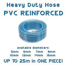 TUBO in PVC rinforzato Cotone Intrecciato Carburante, diesel, olio, senza piombo, BENZINA POMPA TUBO