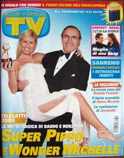 TV Sorrisi-'08-MICHELLE HUNZIKER,PIPPO BAUDO,Kasia Smutniak,N Frassica,Jovanotti