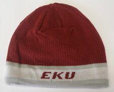 NWT NCAA Eastern Kentucky University Adidas Reversible Knit Hat Beanie Cap OSFA