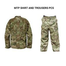 BRITISH MTP SHIRT AND TROUSER SET -USED - COMBAT SET - BRITISH ARMY -AIRSOFT SET