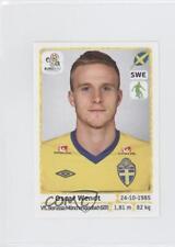 2012 Panini UEFA Euro Album Stickers #439 Oscar Wendt Soccer Card