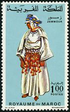 Yt 568  MAROC  Neuf ** COSTUME  FEMININ DE ZEMMOM 1968
