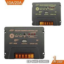 10A/20A Lcd Mppt Solar Panel Battery Regulator Charge Controller 12V 24V Fl