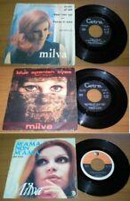 Stock 3 dischi 45 giri - Milva