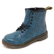 D3024 (without box) anfibio bimba DR. MARTENS blu boot shoe kid